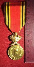 Belgique - Superbe médaille des Ex- Sous Officiers de Léopold II