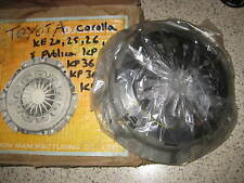 QUALITY CLUTCH COVER - HE1034 - FITS: TOYOTA COROLLA 1100 1200 KE20 (1966-75)