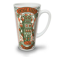 Vintage Old Robot NEW White Tea Coffee Latte Mug 12 17 oz | Wellcoda
