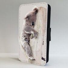 Koala Bear Sleeping Cute FLIP PHONE CASE COVER for IPHONE SAMSUNG