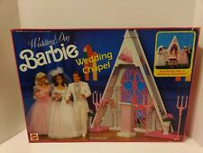 Wedding Day Barbie Wedding Chapel Mattel no. 7217 from 1991