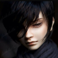1/3 BJD SD Doll Handsome Boy Teen Resin Unpainted Doll + Free Eyes + Face Makeup