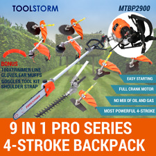 4-STROKE Backpack Pole Chainsaw Hedge Trimmer Saw Brushcutter Whipper Snipper..