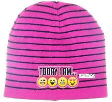 Emojination Girls Beanie Pink Size One Size