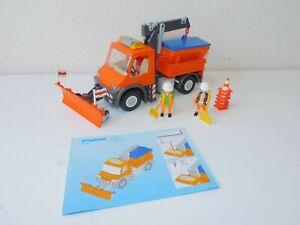 Playmobil 4046 snowplough