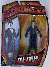 DC COMICS MULTIVERSE Mattel Action Figure 2014 THE JOKER ARKHAM ORIGINS