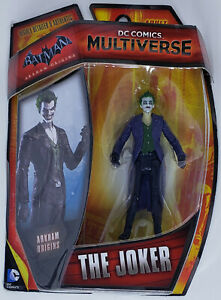 DC COMICS MULTIVERSE Mattel Action Figure 2014 THE JOKER ARKHAM ORIGINS