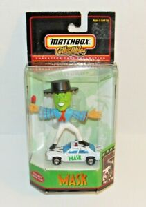 "Matchbox Collectibles Jim Carrey ""THE MASK"" Character Car Collection 1999 NIP"