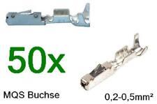 50 x MQS Quadlock 0,2-0,5² N 907 647 01 wie bei Reparaturleitung 000 979 009 E