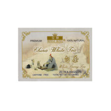 Premium China White Peony Tea - 20 Tea bags - 100% Natural - Caffeine Free Tea