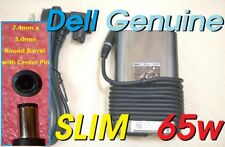 Dell genuine original Latitude Inspiron OEM 65w Slim AC adapter LA65NM130 JNKWD