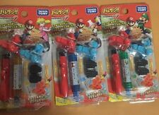Super  Mario Kart batokeshi 3 pack set rubber figure toy nintendo kinkeshi