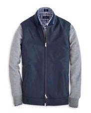 Peter Millar Maruyama Matte Nappa Lambskin Leather Gilet Vest Barchetta S $998