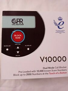 CPR V10000 Landline Call Blocker, Block 10000 Known & Additional 2000 Robocalls