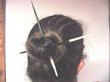 BUTW (2) huge 8-9 inch african porcupine quills hair stick 282_8/9