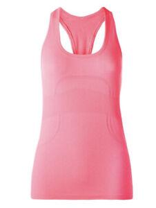 Lululemon Run Swiftly Racerback Heathered Neon Pink Size 8 From 2014