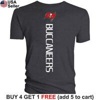 Tampa Bay Buccaneers T-Shirt Vertical Graphic Men Cotton TB Bucs