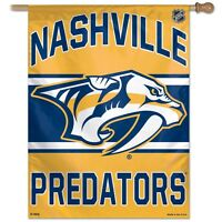 """NHL Assorted Teams Wincraft 27"""" x 37"""" Vertical Flags Vibrant Colors NEW!"""
