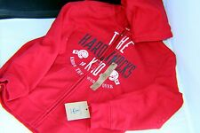 Land's End Red Zip-Up Hoodie for Boys 7 Year Old New With Tags