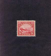 Sc# C6 Unused Og Mnh 24c Dehavilland Biplane Airmail, 1923, Very Fine.