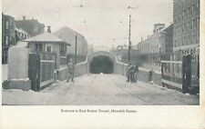 BOSTON MA – East Boston Tunnel Maverick Square - udb (pre 1908)