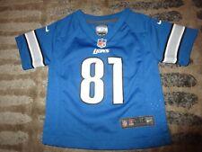 Calvin Johnson #81 Detroit Lions NFL nike Jersey Toddler Baby 18m