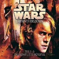 "STAR WARS ""LABYRINTH DES BÖSEN"" 3 CD BOX NEUWARE"