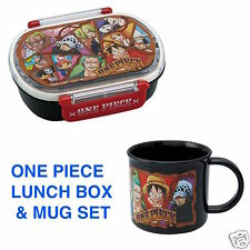 ONE PIECE Lunch box Bento container Mug Black Kid Made in Japan