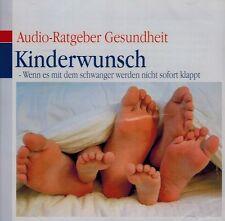 HÖRBUCH-CD - Kinderwunsch - Wenn es mit dem schwanger werden nicht sofort klappt