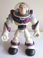 Rare Small Disney Pixar Toy Story Buzz Lightyear Toy Figure 2006 Hasbro Purple