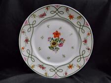 "Raynaud Ceralene Guirlandes, Green Line, Flowers: Dinner Plate (s), 10 7/8"""
