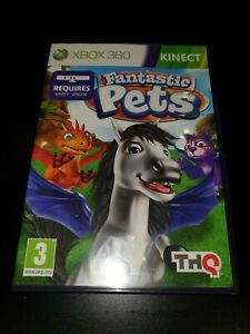 Fantastic Pets Microsoft Xbox 360 Kinect Kids Game, VGC