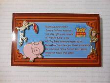 Disney Pixar Toy Story Midway Mania WOODY JESSIE HAMM Travel Agent Promo Pin Set