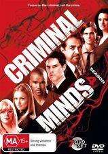 Criminal Minds: Season 4 (DVD, 2010, 7-Disc Set), NEW SEALED REGION 4