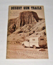 Desert Gem Trails Mary Frances Strong Field Guide Mojave & Colorado Deserts 1966