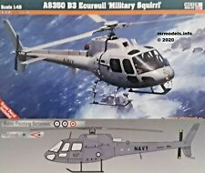 Mister Craft 1/48 AS350 B3 Ecureuil Military Squirrel New Plastic Model Kit 1 48