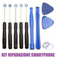 KIT RIPARAZIONE SMARTPHONE SMONTAGGIO CELLULARI SET CACCIAVITI PRECISIONE IPHONE