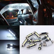 12PC White LED Light Interior Package kit Error Free for Audi A5 S5 8T 2008-2014