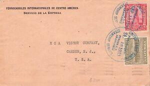GUATEMALA - SHIP MAIL UNITED FRUIT COMPANY 1933