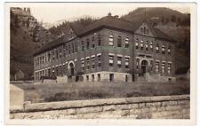 PUBLIC SCHOOL Telluride COLORADO - c1910 Photo POSTCARD Elementary School