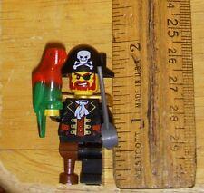 Captain Brickbeard Pirates II 6299 6243 6253 LEGO Minifigure w/ sword parrot