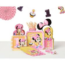 Minnie Mouse 1st Birthday Party Supplies,Tableware & Decorations
