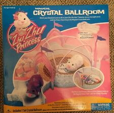 Zhu Zhu Princess Magical Crystal Ballroom Playset - New!