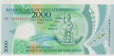 More details for p14 2014 vanuatu 2000 vatu banknote in mint condition.