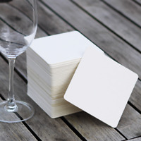 Plain Coasters, Blank water absorbent, Wedding Gift, Party Idea, place cards