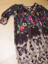 Überwurf Diane von Fürstenberg Seide S 40 42 M L blouse silk Tunika Bluse 44 46