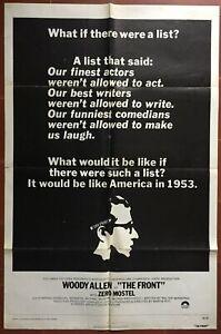 Poster American The Prete-Nom Martin Ritt Oscar Woody Allen Zero Mostel