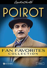 3 DVD 6 Agatha Christie's Poirot Fan Favorites Collection: Suchet Orient Express