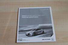 99717) Renault Megane RS 2.0 16V + Coupe - Preise & Extras - Prospekt 05/2011