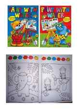 4 infantil A4 Pintura Acuarela Books Paleta Mágica en cada página 2060